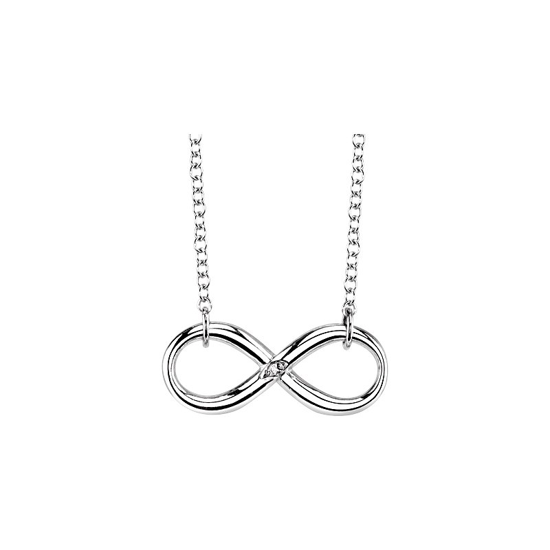 Simmons & Clark Two Hearts Collection Necklace