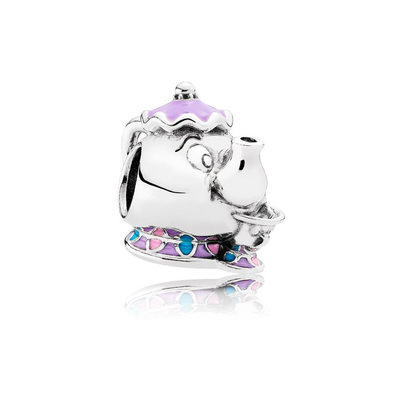 9971154fa Lawrence Jewelers: PANDORA Disney, Mrs. Potts & Chip, Mixed Enamel