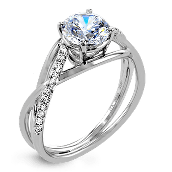 ZR1378 ENGAGEMENT RING