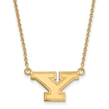 Gold Youngstown State University NCAA Necklace