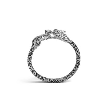 Legends Naga 6MM Station Bracelet in Silver with Diamonds. Available at our Halifax store.