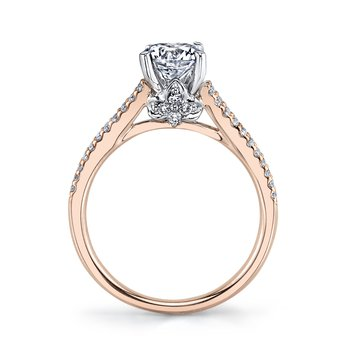 MARS 25851 Diamond Engagement Ring 0.33 ct tw