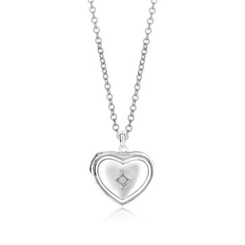 Heart-Shaped Locket-Pendant
