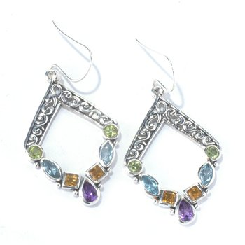 Riviera Filigree Earrings