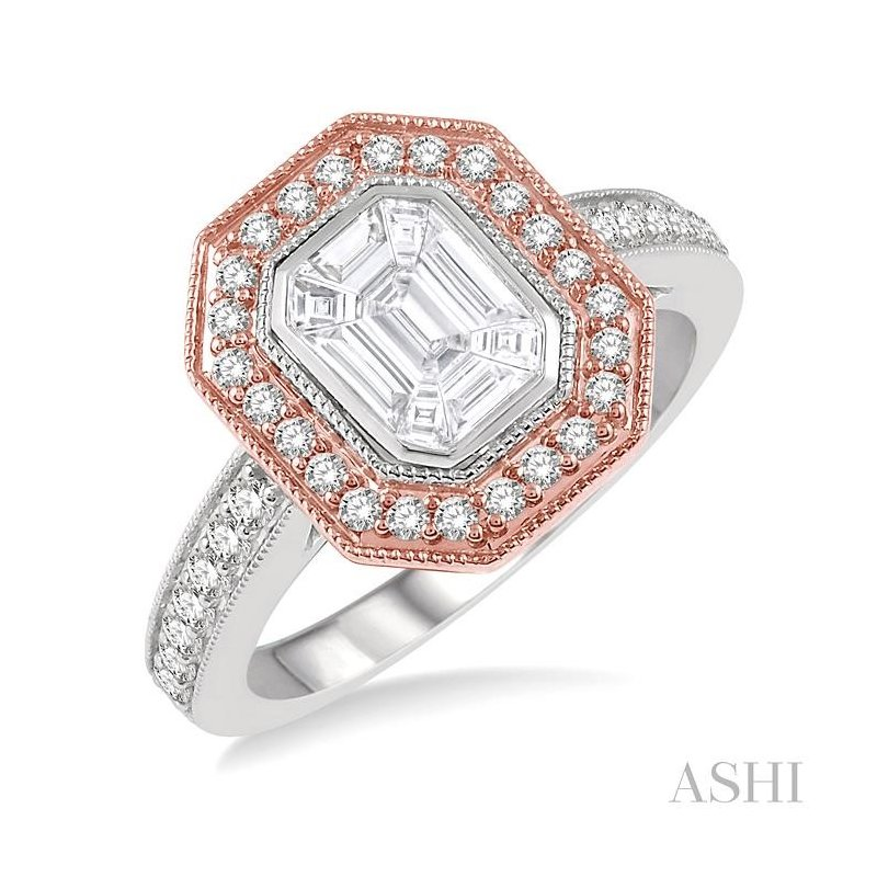 Crocker's Collection fusion diamonds ring