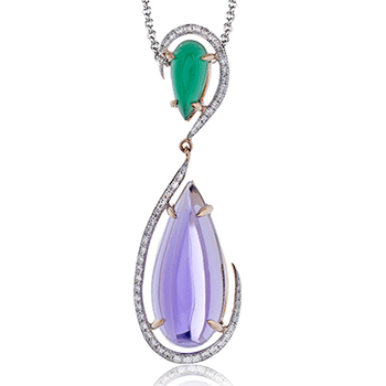 ZP728 COLOR PENDANT