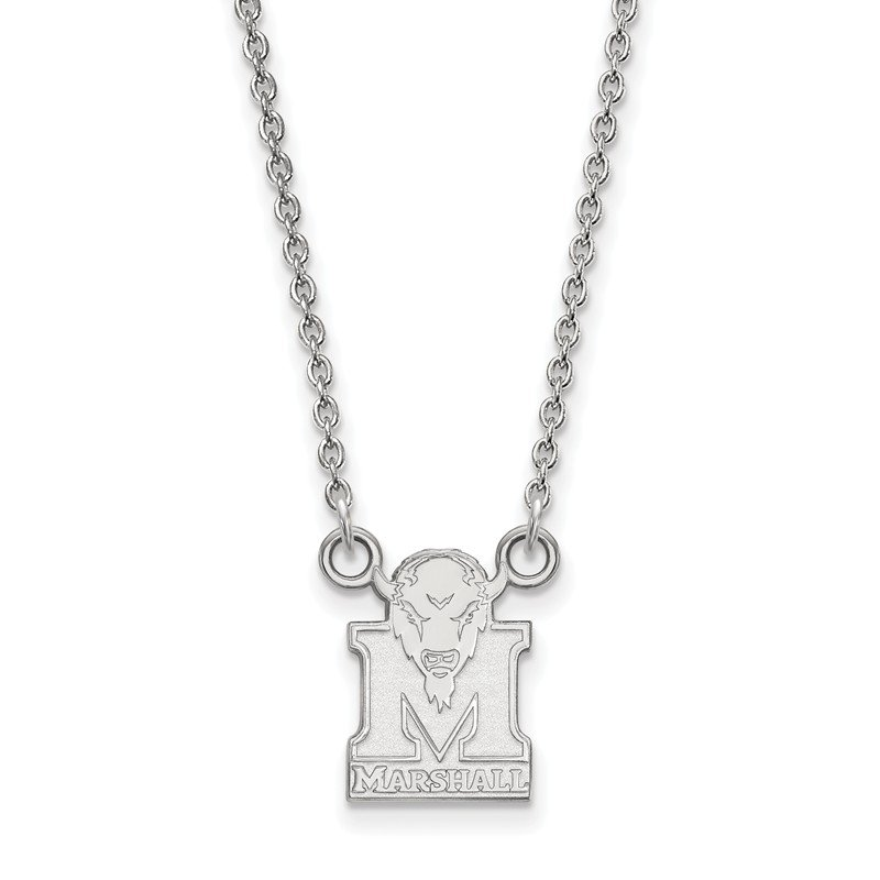 NCAA Sterling Silver Marshall University NCAA Necklace