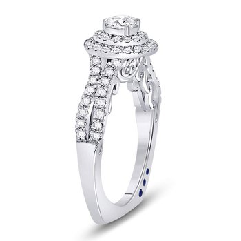 Womens Round Diamond Solitaire Bridal Wedding Engagement Ring 1.00 Cttw
