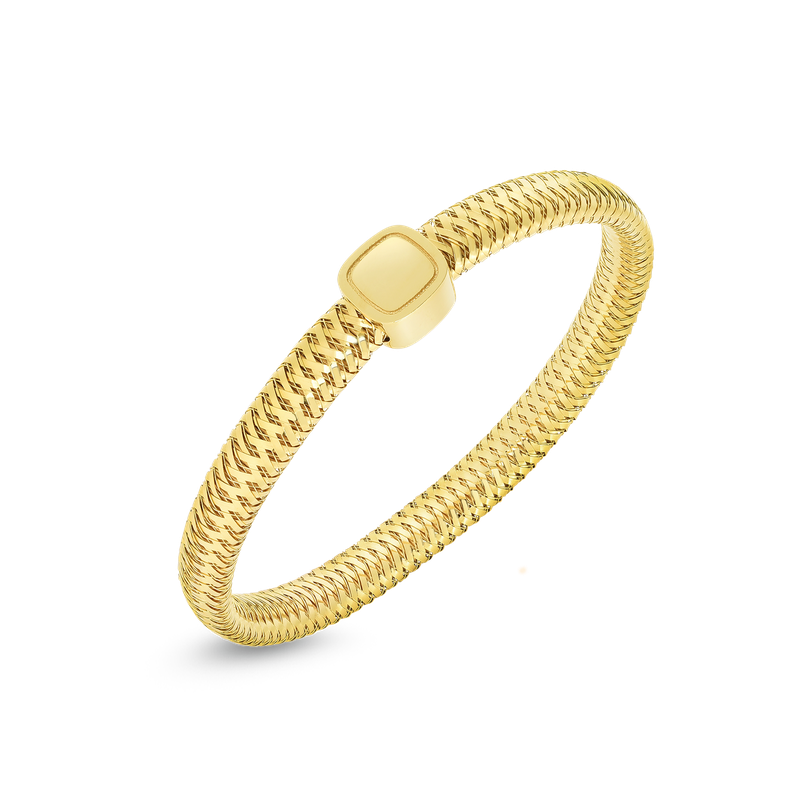 Roberto Coin 18Kt Gold Flexible Bangle