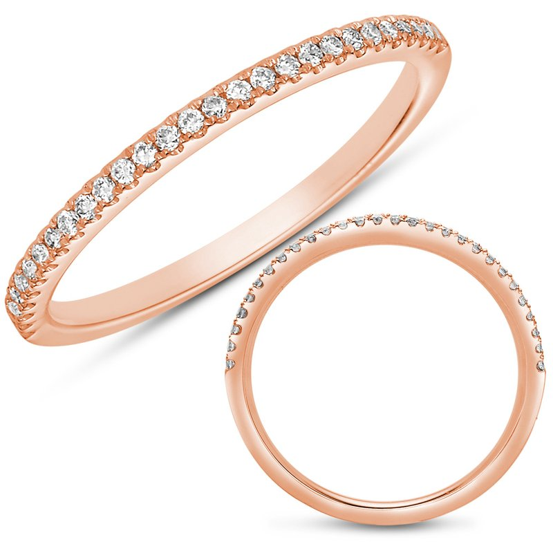 S. Kashi & Sons Bridal Rose Gold Matching Band
