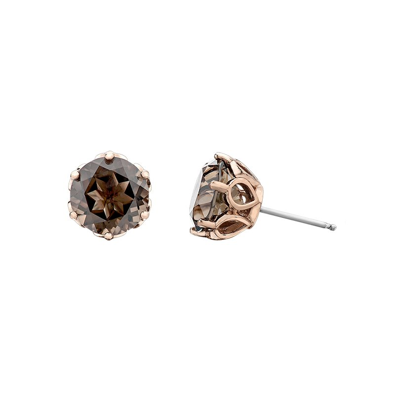 Timeless Beauty Smokey Quartz Earrings
