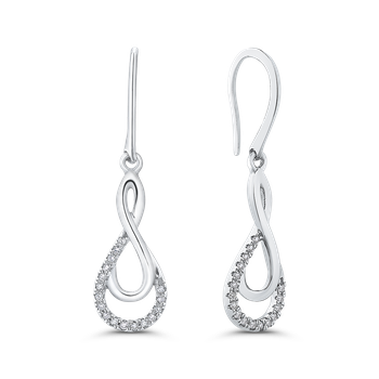 0.13 Ct Diamond Fashion Earrings