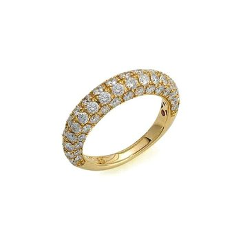 #25905 Of 18Kt Gold Ring With Diamonds
