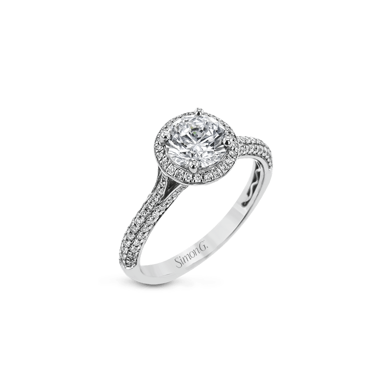 Simon G MR3097 ENGAGEMENT RING