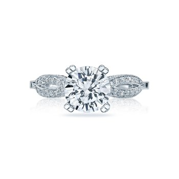 Princess 18kwg Engagement Ring