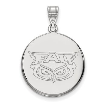 Gold Florida Atlantic University NCAA Pendant