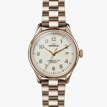 Watch: Vinton 3HD 38mm, Champagne Bracelet