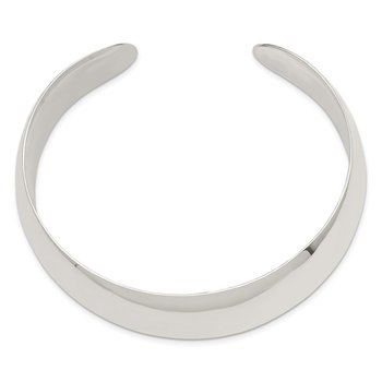Sterling Silver 21mm Cuff Bangle