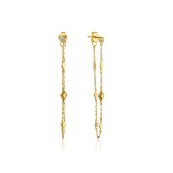 BOHEMIA CHAIN STUD EARRINGS