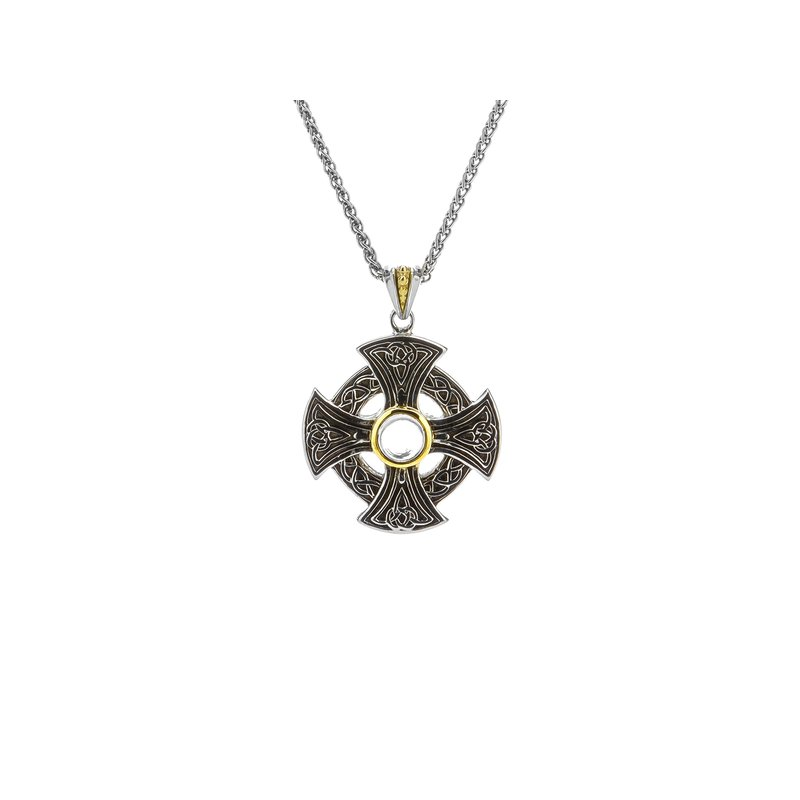 Keith Jack Celtic Wheel Cross Pendant