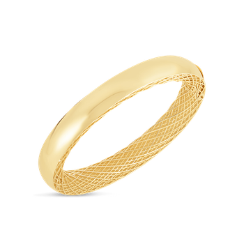 18Kt Gold Slim Bangle