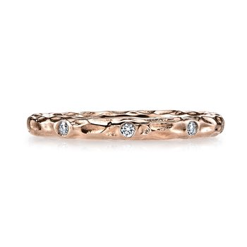 MARS 25682RG Diamond Wedding Band 0.12 ctw