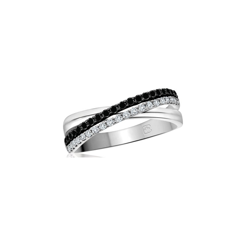 Diamond Wishes Enhanced Black Diamond Ladies Ring