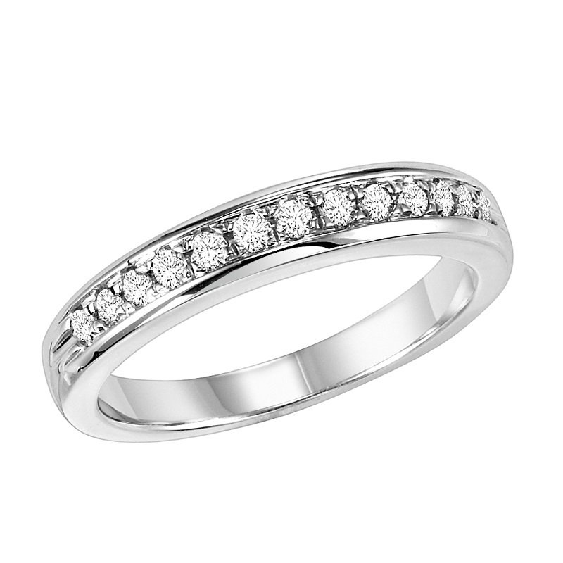 Bridal Bells 14K Diamond Matching Band 1/4 ctw