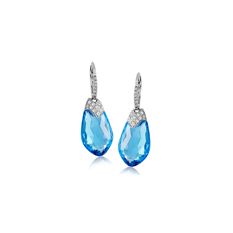 Zeghani ZE579 COLOR EARRING