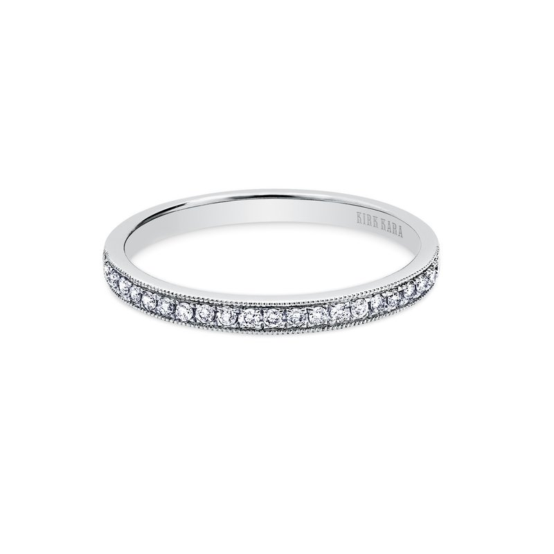 Elegant Stackable Diamond Wedding Band