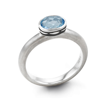 Cocktail Stax Blue Lagoon Ring