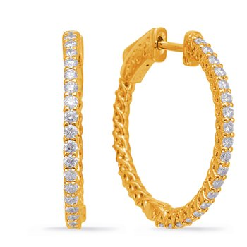 1 Inch Securehinge Hoop EarrIng