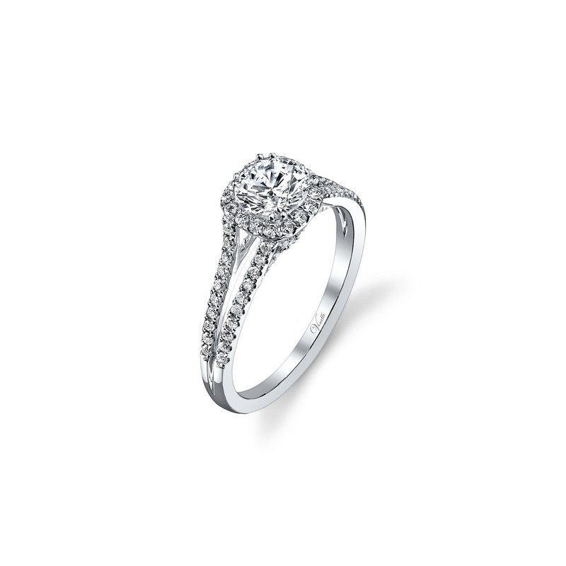 Venetti 14K W RING 84RD 0.38CT