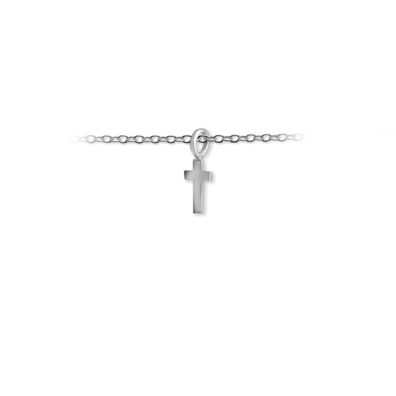 Slate and Tell 10mm Mini Cross Charm
