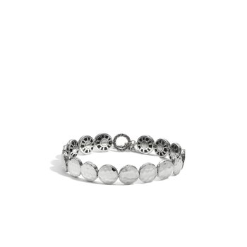 Dot Small Round Disc Bracelet