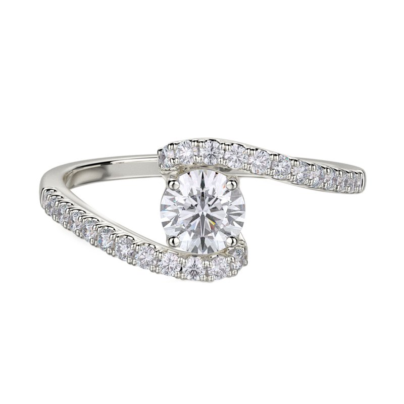 Love Story Diamond Engagement Ring by Love Story