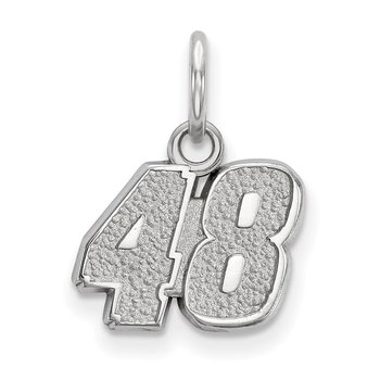 Sterling Silver 48 Jimmie Johnson NASCAR Charm