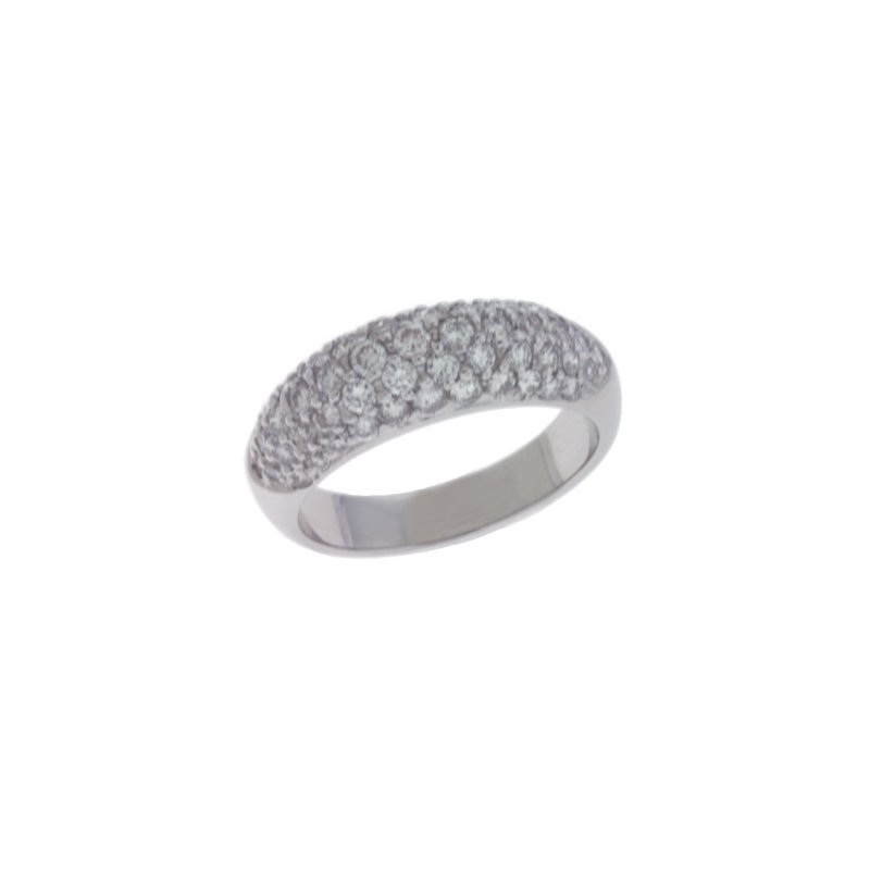 S. Kashi & Sons Bridal White Gold Diamond Ring