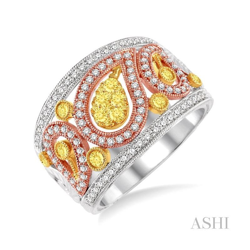 ASHI diamond fashion ring