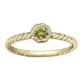 Peridot Ladies Solitaire