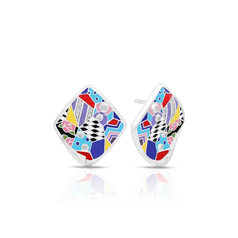 Belle Etoile Quilt Earrings