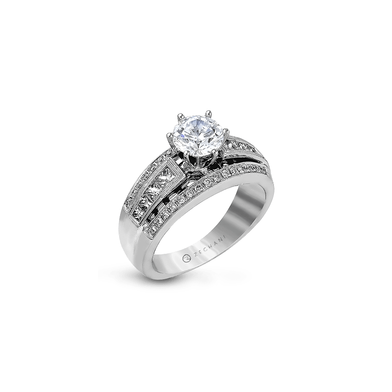 Zeghani ZR119 ENGAGEMENT RING