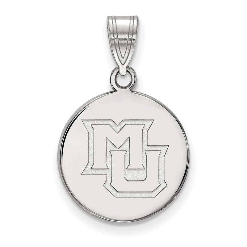 NCAA Gold Marquette University NCAA Pendant