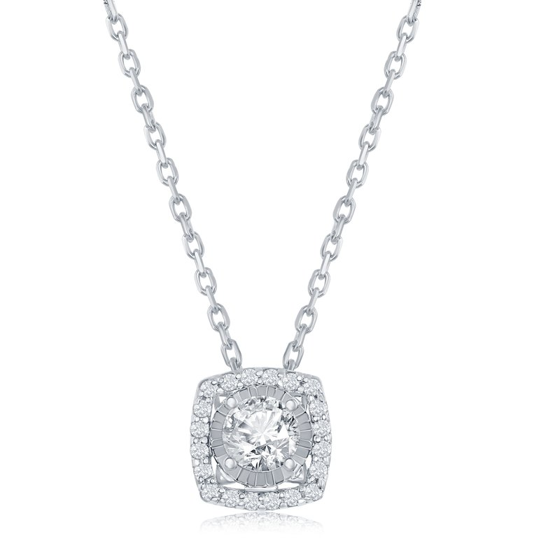 Veer Diamonds MIRACLE CUSHION PENDANT