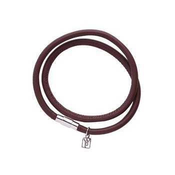 Nestel Leather Bracelet-Saddle