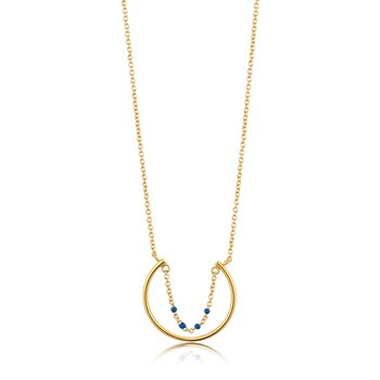 Dotted Circle Necklace
