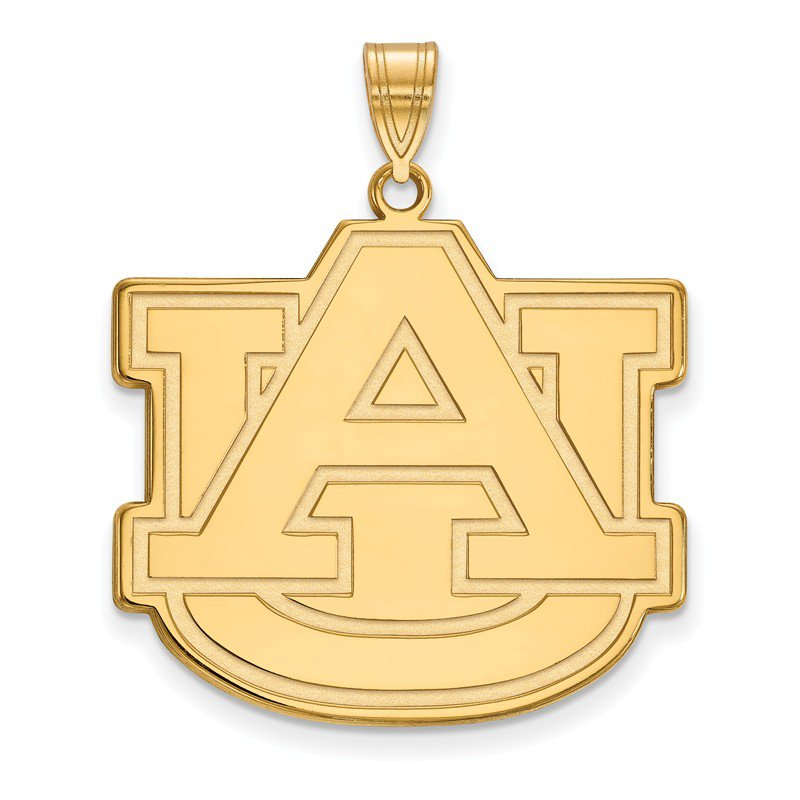 NCAA Gold-Plated Sterling Silver Auburn University NCAA Pendant
