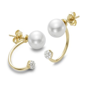Convertible Front/Back Pearl Earrings