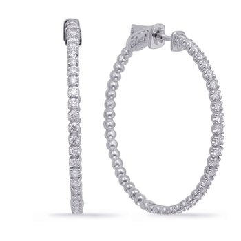 1.45 Inch Securehinge Hoop EarrIng
