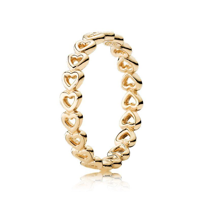 cc33e5bff Taylor's Jewellery Shop: PANDORA Linked Love Stackable Ring, 14K ...